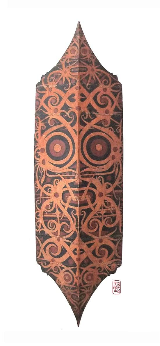 Dayak Shield, Indonesia  #dayak #tribal