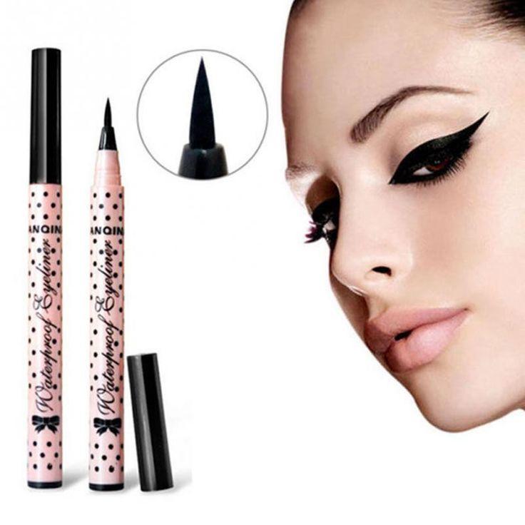 Long Lasting Women Liquid Eye Liner Pen Black Waterproof Liquid Eyeliner Pen Eye Liner Makeup Beauty Cosmetics Tools
