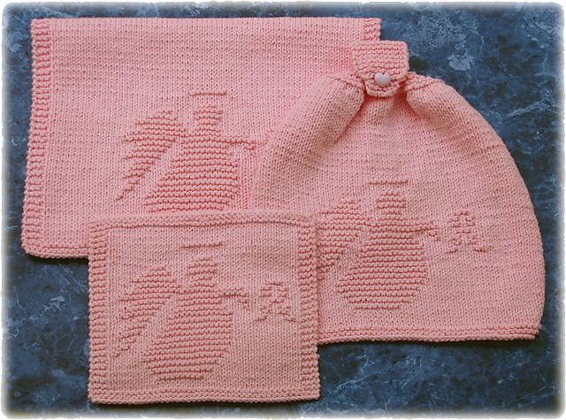 Breast Cancer Dishcloth Knitting Pattern : Pin by Jill Laird-Shaw on Crochet Pinterest