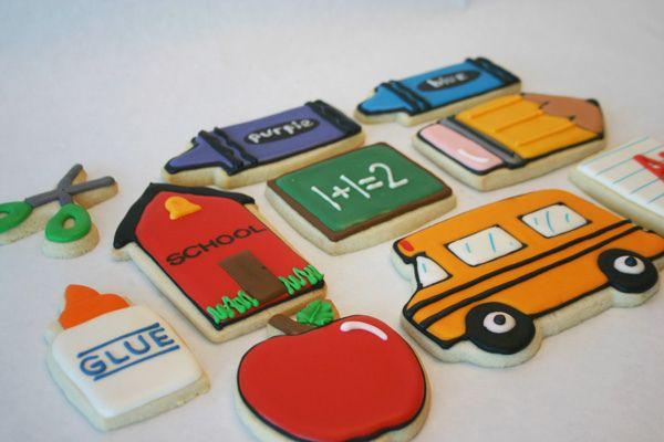 Back to school cookies or Teacher Appreciation....love that Bus!!!: Teacher Gifts, Teacher Appreciation, Back To Schools, Decor Cookies, Schools Theme, Schools Cookies, Ice Cookies, Sugar Cookies Frostings, Cute Cookies