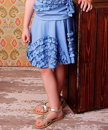 Look what I found on #zulily! Easter Egg Arch Ruffle Skirt - Girls #zulilyfinds