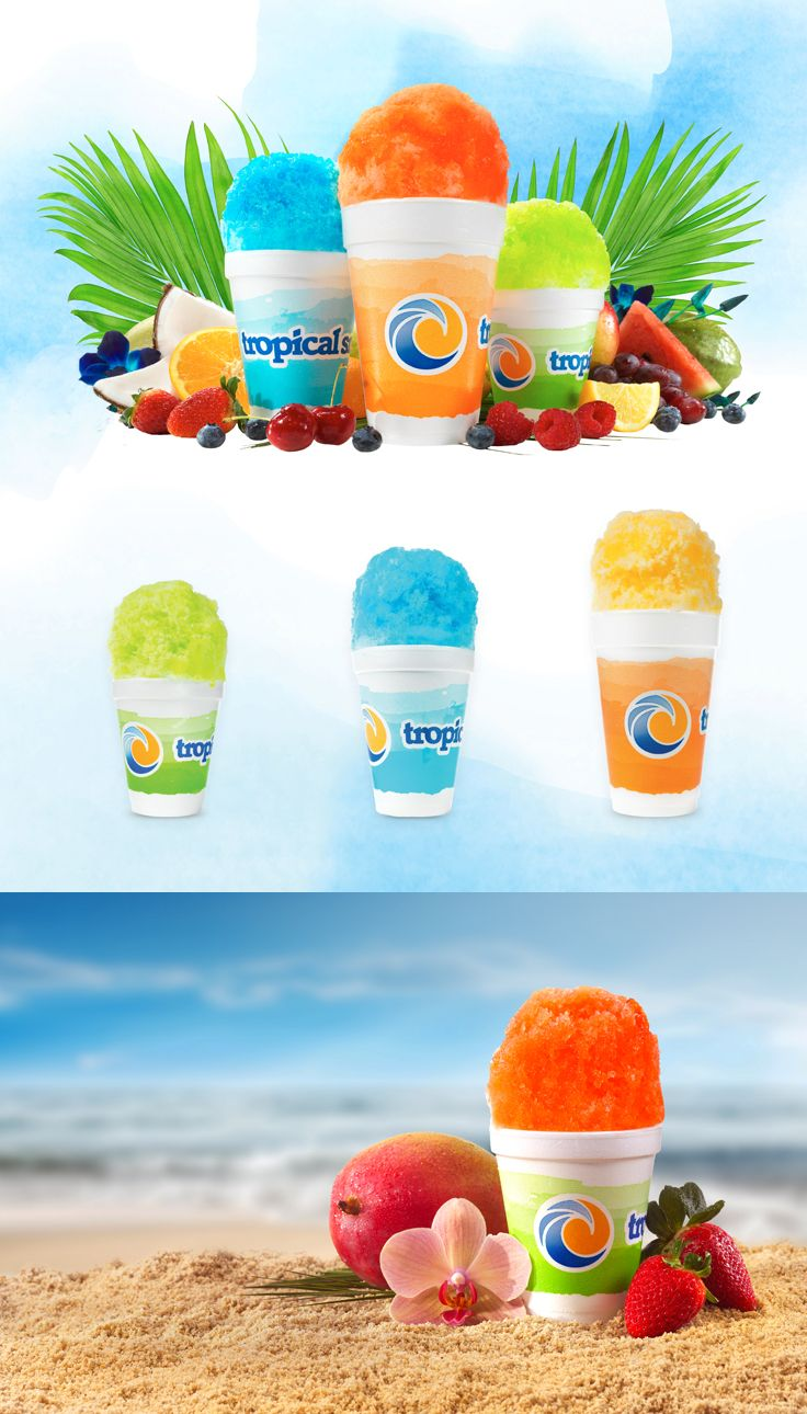 Tropical Sno Cup Design #graphicdesign #design #packagedesign #marketing #packaging #visualidentity #epicmarketing #tropicalsno #cup #shavedice #snocone