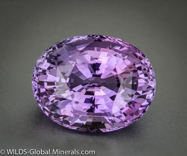 purple sapphire by WILDS Global Minerals, via Flickr