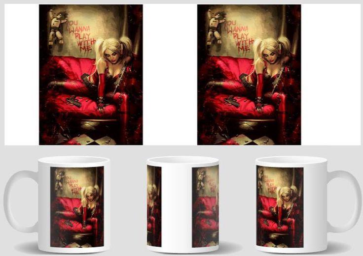 harley quinn mugs batman home decal friend gifts mugen porcelain tea birthday gifts coffee Cups ceramic mugen novelty