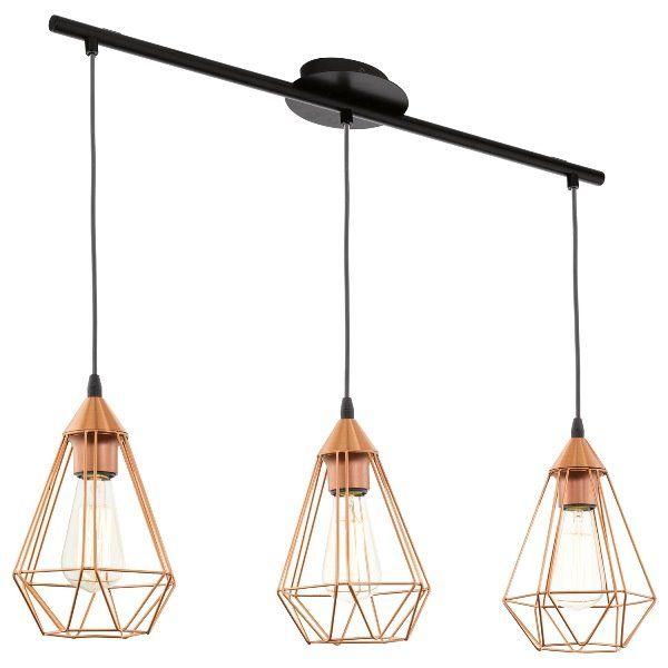 Eglo Vintage Lampa wisząca Tarbes 94195 : Sklep internetowy Elektromag Lighting #copper #lamp