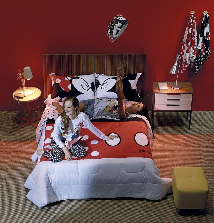 Blog Estação - Jogo de cama Mickey e Minnie | Riachuelo - O Abraço da Moda