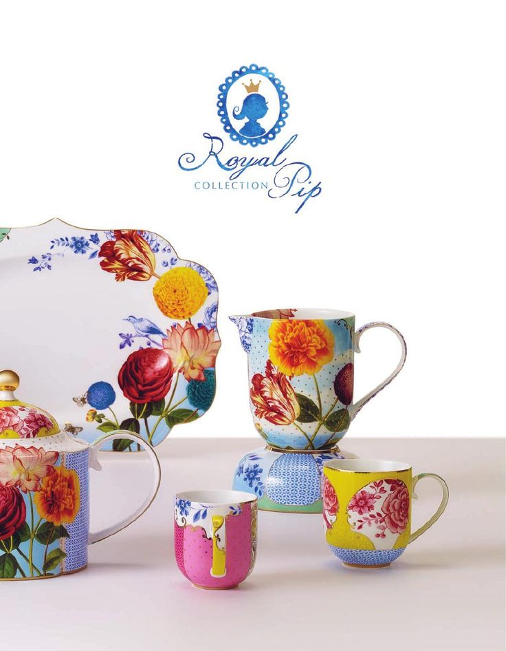 Pip Studio New royal collection - may be my latest obsession for spring dining ware: