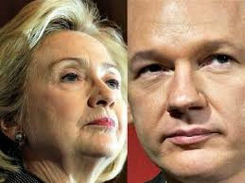SHOCKING WIKILEAKS JULIAN ASSANGE: HILLARY WILL BE IN PRISON SOON! - YouTube