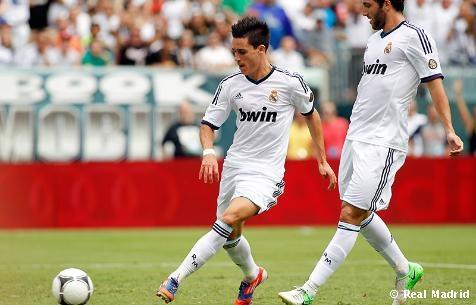 """Callejón, el """"pichichi"""" de la pretemporada del Real Madrid con 5 goles en 6 partidos."""