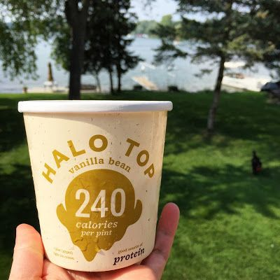Halo Top review. Halo Top is a protein ice cream that contains 24 grams of protein and only 240 calories per pint