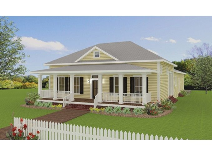 Country House Plan With 2208 Square Feet And 3 Bedrooms