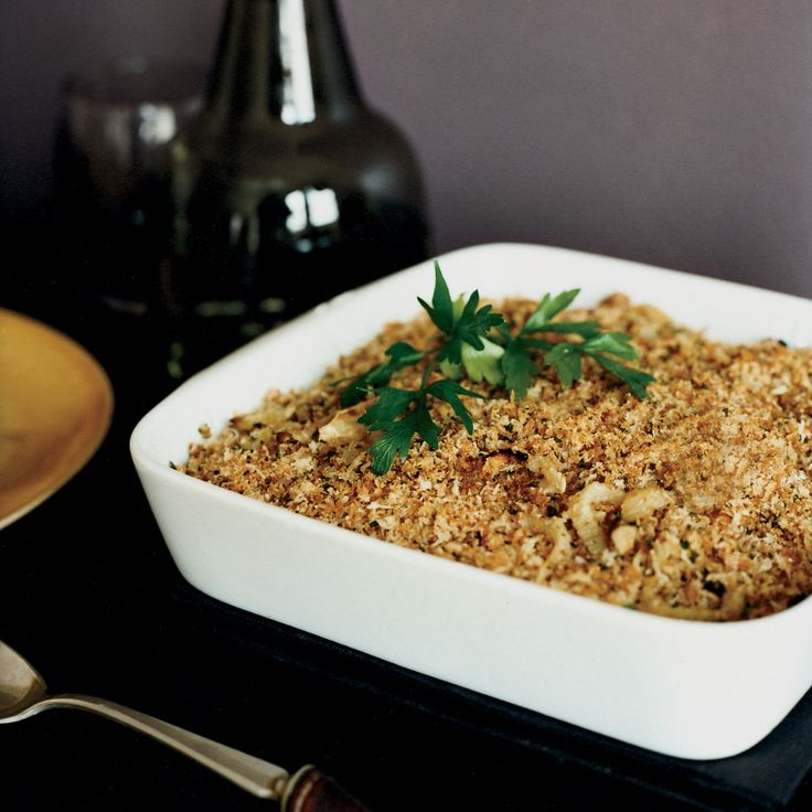 Sweet roasted slices of fennel topped with herbed bread crumbs make for a fabulous freezer-to-oven side dish.  Plus: Ultimate Thanksgiving Guide  ...