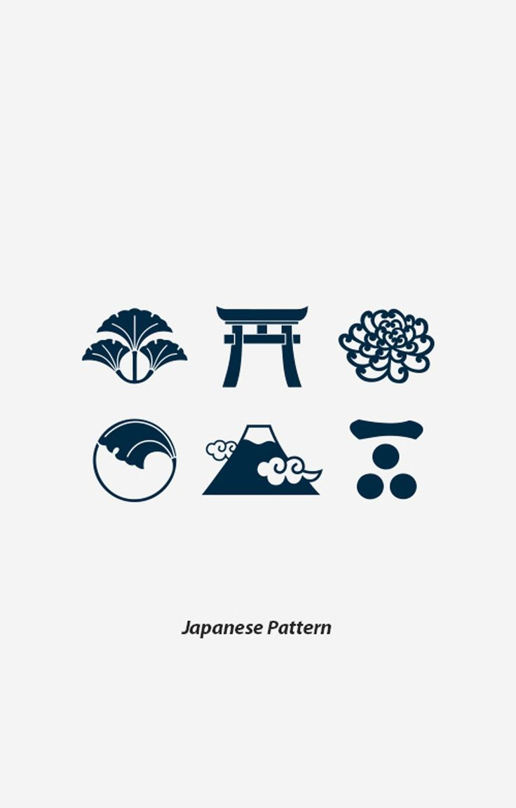 Japanese Pattern Temporary Tattoo - BKBT Concept