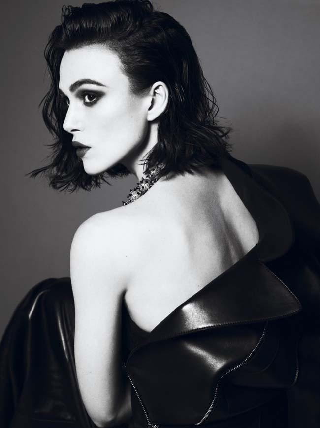 Keira Knightley - Interview Magazine April 2012