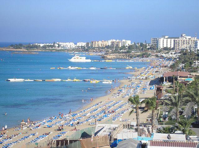 Protaras, Cyprus.