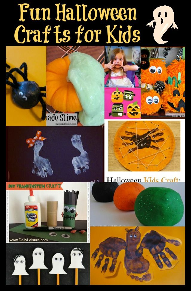 ten of the most fun and low cost halloween crafts for kids
