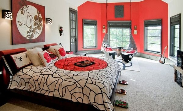 17 best ideas about red accent walls on pinterest red walls red paint colors and interior. Black Bedroom Furniture Sets. Home Design Ideas