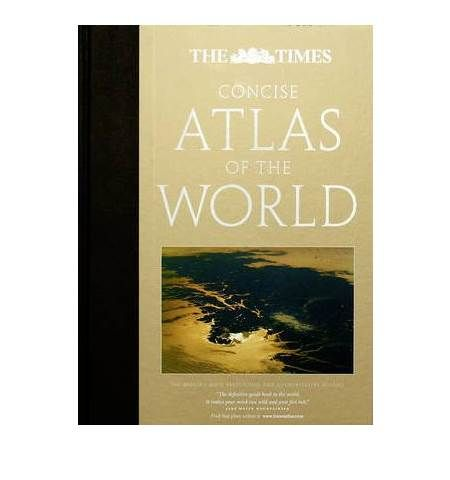 Mynd af Times Concise Atlas of the W