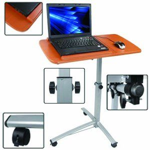 Adjustable New Angle & Height Rolling Laptop Desk Over Bed Hospital Table Stand OEM Control http://www.amazon.com/dp/B009HFR6LK/ref=cm_sw_r_pi_dp_2vKrvb1HYP77N