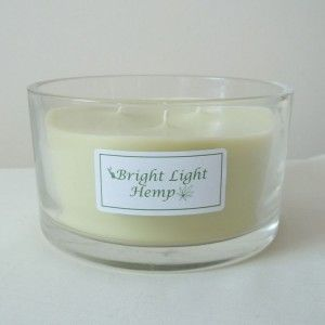 Formation of white (wax) deposit on the wall of a candle is natural. - See more at: http://brightlightcandles.net/product/hemp-wax-candles/3-wick-hemp-candle-clear-glass-unscented/#sthash.azQVrjzY.dpuf
