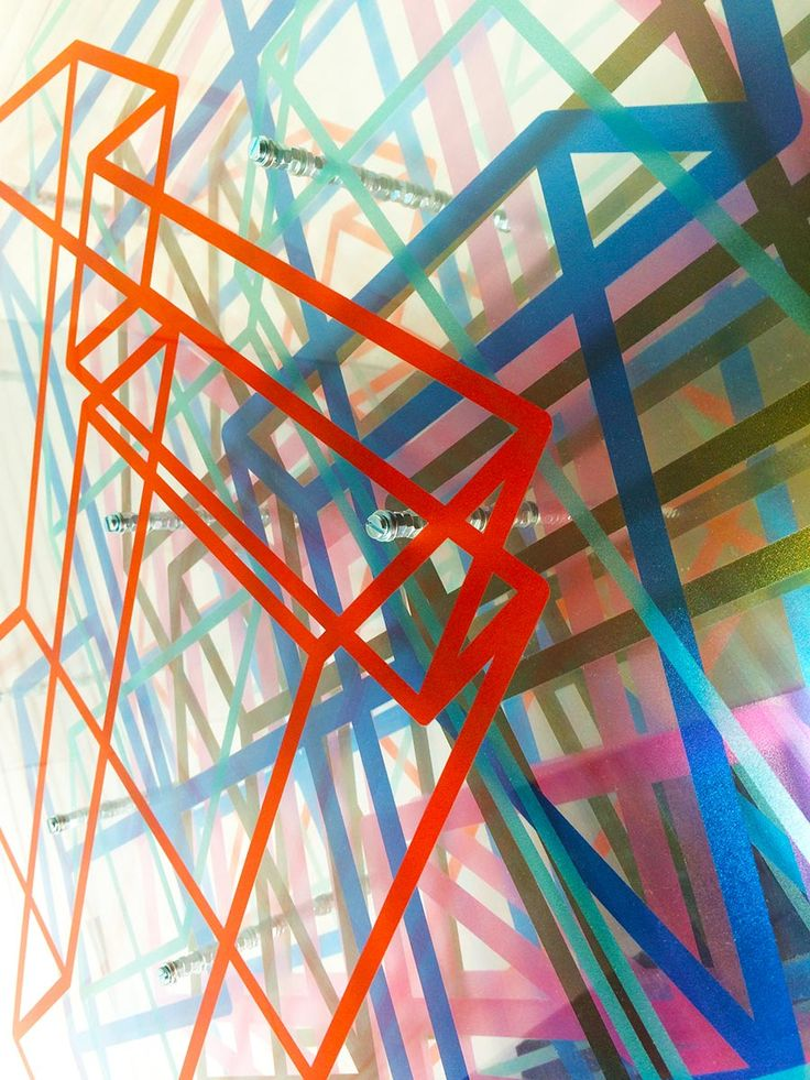 Detail of 'Cubes Minus Two' from 'LAY[ER][ED]]' Exhibition by Richard Scott