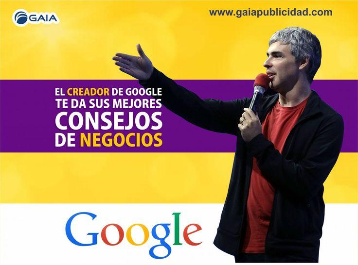El creador de Google te da sus mejores consejos de negocios #google #consejos #negocios #exito