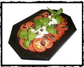Mozzarella and Tomato Platter