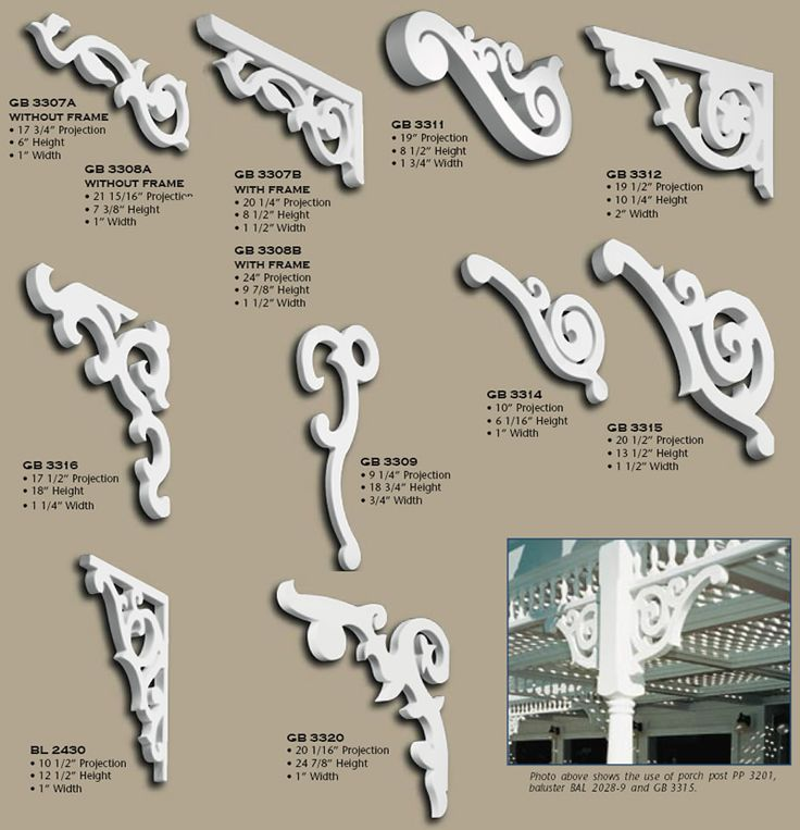 Decorative Porch Brackets