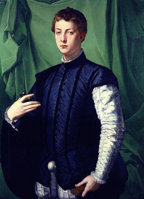 Bronzino - Portrait of Ludovico Capponi