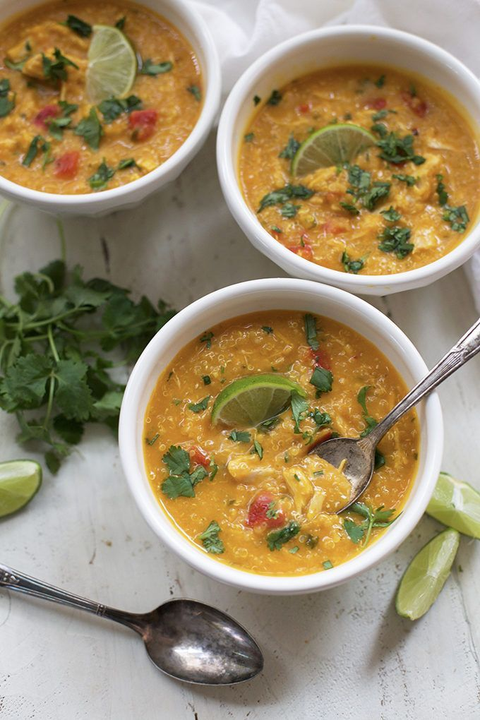 14. Thai Chicken and Butternut Soup #paleo #crockpot #recipes http://greatist.com/eat/paleo-crock-pot-recipes