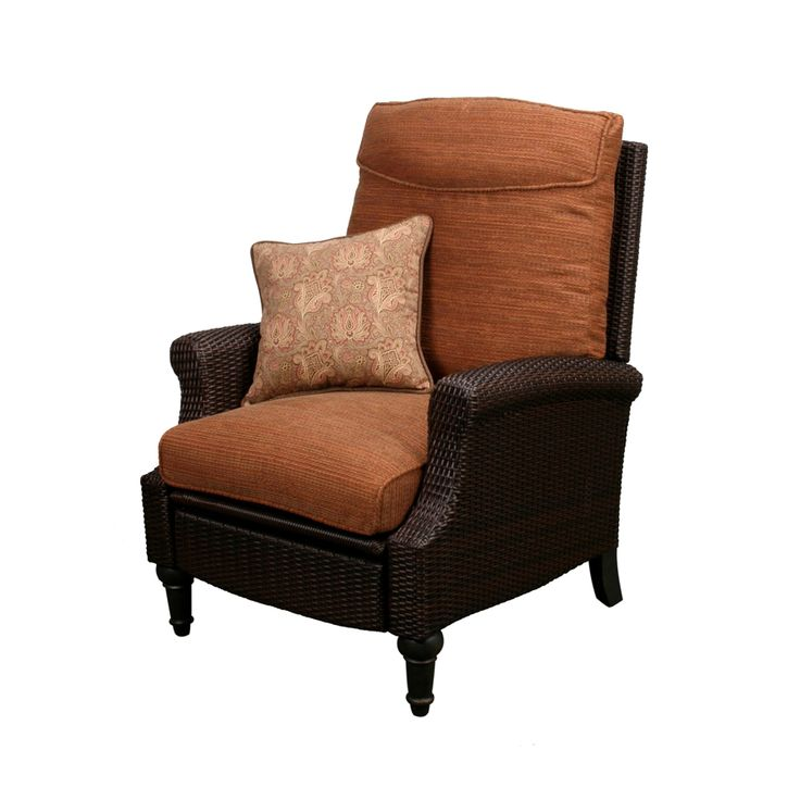 wicker recliners - ATu0026T Yahoo Search Results  sc 1 st  Pinterest & 10 best wicker swivel glider images on Pinterest | Gliders Wicker ... islam-shia.org