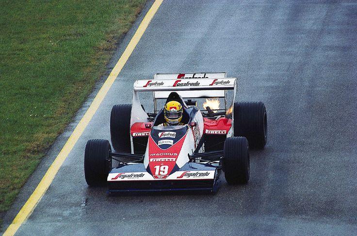 Toleman TG183B Hart 415T - Toleman Group Motorsport - IV Gran Premio di San Marino - 1984 World Formula One Championship, round 4