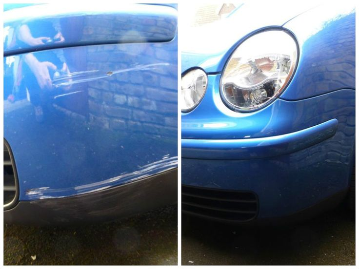 Andrews Volkswagen Polo after being treated with the Chipex touch up kit http://www.chipex.co.uk/vw-touch-up-paint/vw-polo-touch-up-paint.html