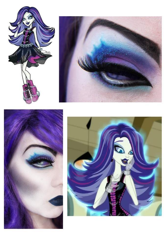 Spectra Vondergeist / Monster High /  - GORGEOUS makeup by Jangsara (https://www.facebook.com/jangsara.fanpage)