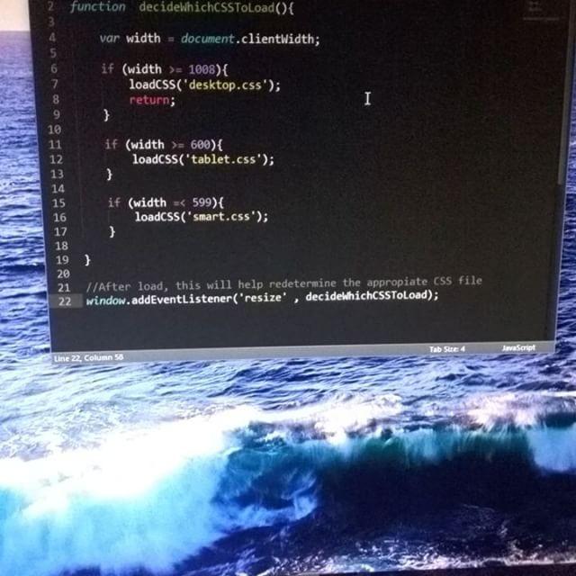 JavaScript Auto CSS loading script  #adobe #advertise #art #bootstrap #brand #branding #cloud #code #css #digital #digitalart #dream #design #entrepreneur #html #inspire #javascript #marketing #oshkosh #photoshop #php #plugins  #startups #web #webdesign #webdeveloper #wi #wordpress