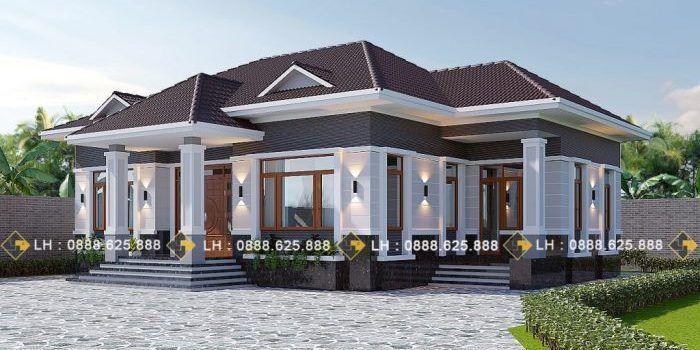 Gorgeous Four Bedroom Bungalow Pinoy Eplans Bungalow Eplans Fourbedroom Gorgeous Pinoy Rumah Indah Dekorasi Rumah Pedesaan Arsitektur