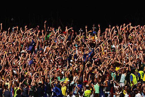 Cricket Crowd Melbourne