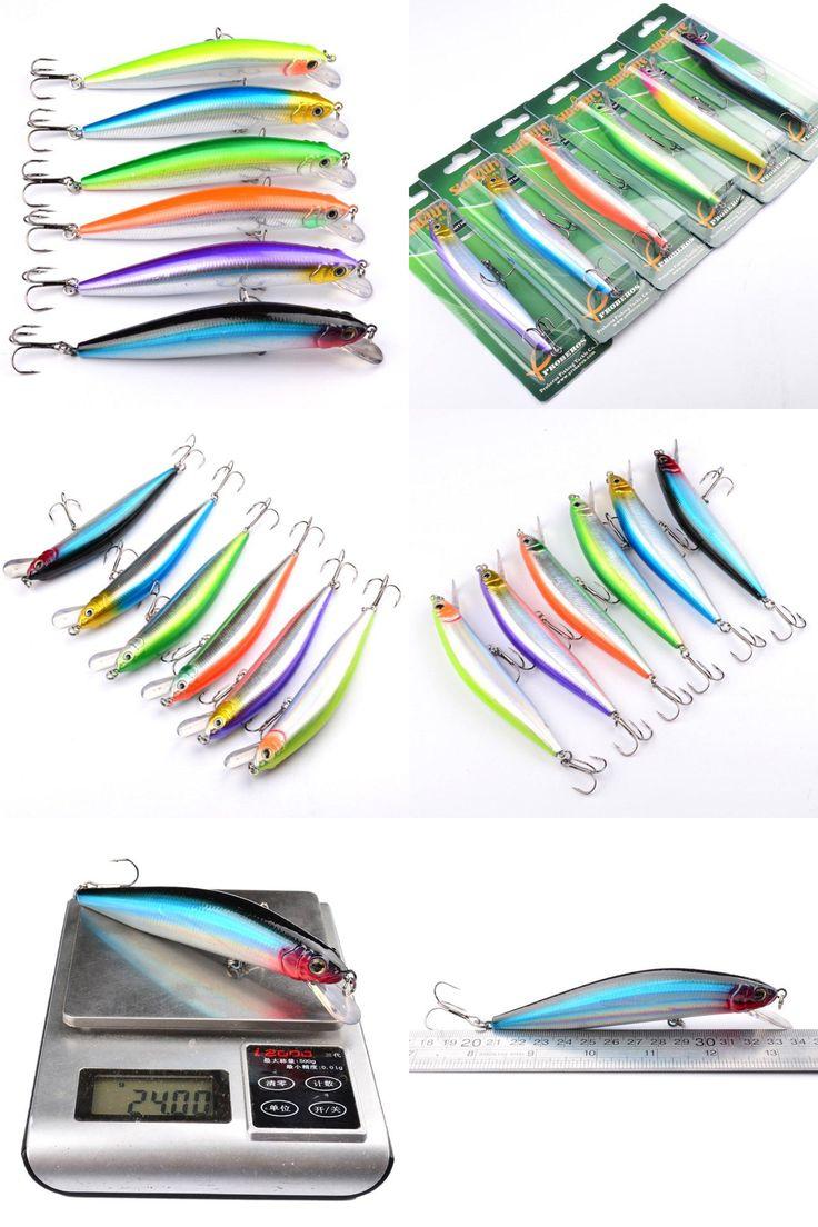 "[Visit to Buy] 5.3""-13.5cm/24g-0.85oz  1 PCS Ropa de Pesca Exported to Japan Fishing lure Minnow Lures Crankbait #Advertisement"