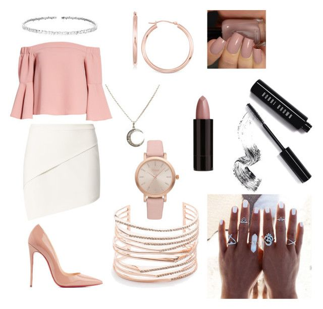 """Agent Monroe #1"" by viktoriaxoxo21 on Polyvore featuring Topshop, Michelle Mason, Christian Louboutin, Suzanne Kalan, Alexis Bittar, Vivani, Serge Lutens and Bobbi Brown Cosmetics"