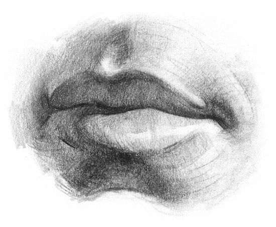 FACES: How to Draw Lips