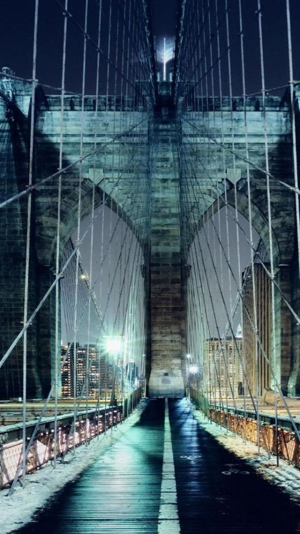 Brooklyn Bridge, Architecture, Brooklyn, New York, United States