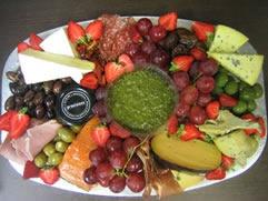 anti pasto platter from The Mediterranean Market, Queenstown, NZ www.mediterranean.co.nz
