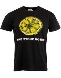 Lemon WORN BY Stone Roses Retro Indie T-Shirt: http://www.atomretro.com/22722 #thestoneroses #stoneroses #wornby #mensfashion #mensstyle #tshirt #atomretro #music