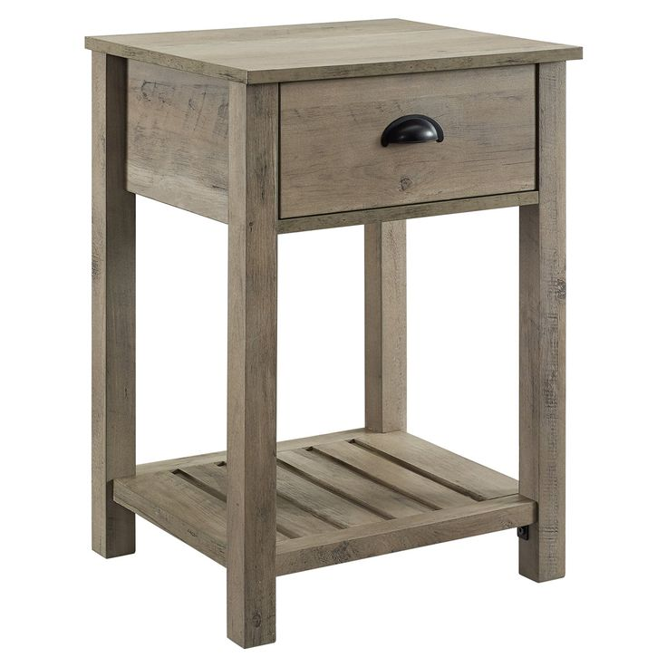 Manor Park Country Single Drawer Side Table | Mattress ...