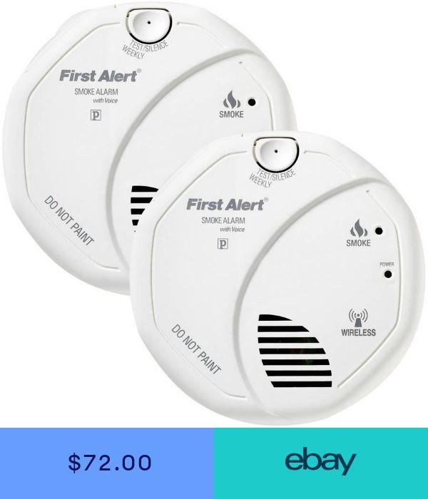 First Alert Smoke Gas Detectors Home Garden Ebay Smoke