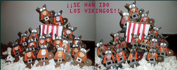 proyecto infantil vikingos - Buscar con Google