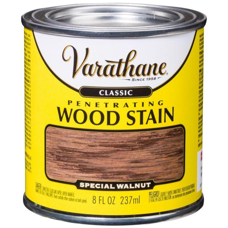 Varathane 8 oz. Special Walnut Classic Wood Interior Stain