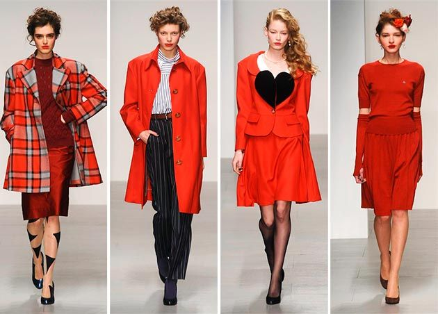 Vivienne Westwood Red Label Fall/Winter 2014-2015 Collection  #LFW #LondonFashionWeek #fashionweek