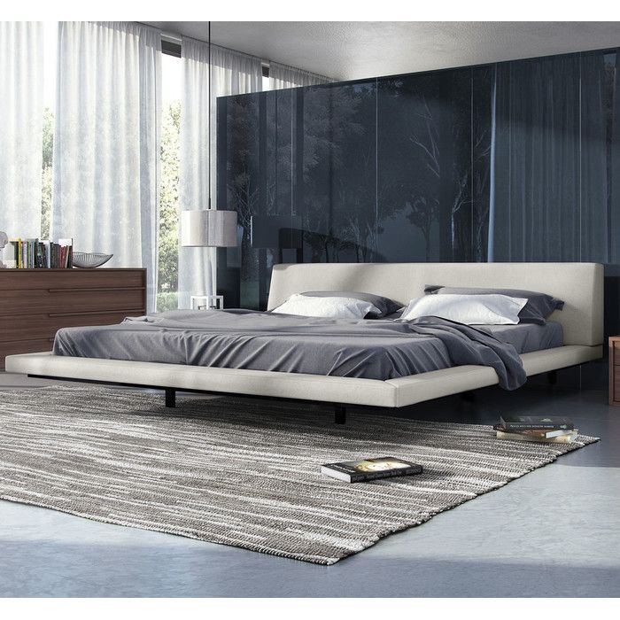 You'll love the Jane Upholstered Platform Bed at AllModern - With Great Deals on modern Bedroom products and Free Shipping on most stuff, even the big stuff.