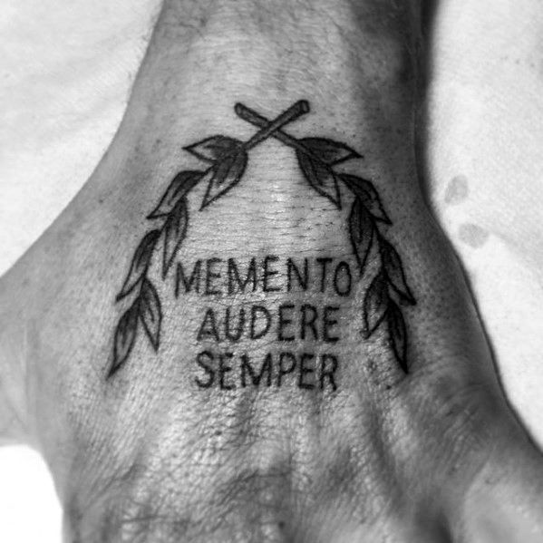 60 Laurel Wreath Tattoo Designs for Men – Branch Ink Ideas